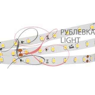 Лента RTW 2-5000PS-50m 24V White6000 (2835, 80 LED/m, LUX)