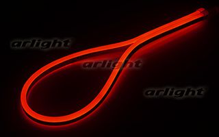 Гибкий неон ARLIGHT-021531 ARL-CF2835-Mini-24V Red [16x8mm]