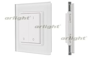 Панель управления ARLIGHT-020946 Knob SR-2833K2-RF-UP White [3V, DIM,2 зоны]