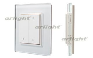 Панель управления ARLIGHT-017740 Knob SR-2833RGB-RF-UP White [3V,RGBW,1зона]