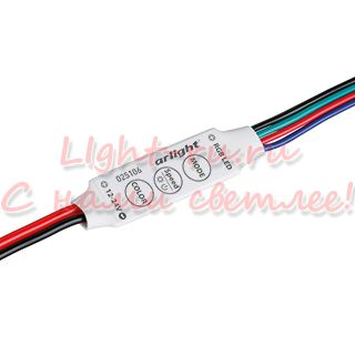 Контроллер ARLIGHT-025106 LN-MINI-RGB [12-24V, 3x2A]