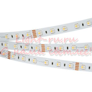 Светодиодная лента ARLIGHT-019152 RT 2-5000 24V RGBW-One Warm 2x [5060, 300 LED, LUX]