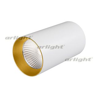 Светильник ARLIGHT-027523 SP-POLO-SURFACE-R85-15W White5000 [WH-GD, 40 deg]
