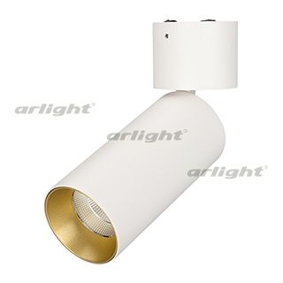 Светильник ARLIGHT-027529 SP-POLO-SURFACE-FLAP-R65-8W Day4000 [WH-GD, 40 deg]