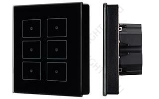 Панель управления ARLIGHT-023038 Sens SR-KN0611-IN Black [KNX, DIM]