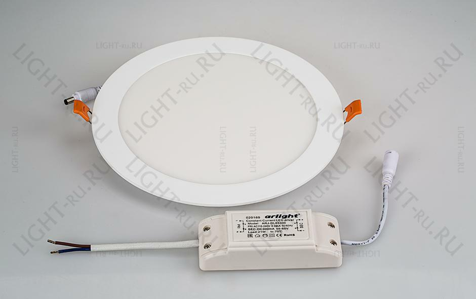 Светильник ARLIGHT-020118 DL-225M-21W Day White